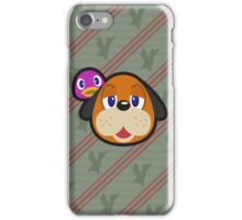 DUCK HUNT DUO ANIMAL CROSSING iPhone Case/Skin