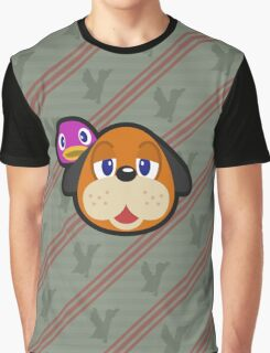 DUCK HUNT DUO ANIMAL CROSSING Graphic T-Shirt