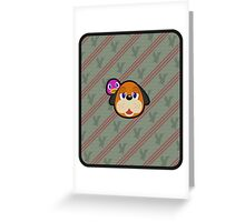 DUCK HUNT DUO ANIMAL CROSSING Greeting Card