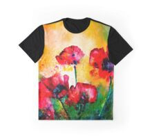 The Rhythm Of Life...Poppies Graphic T-Shirt