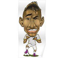 Neymar Caricature Poster