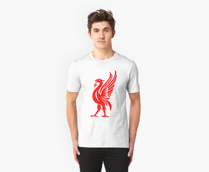 Liverpool Liver Bird Red  by Fotopia