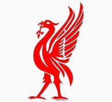 Liverpool Liver Bird Red  Unisex T-Shirt