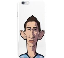 Di maria caricature iPhone Case/Skin
