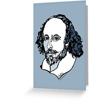 William Shakespeare : The Bard Greeting Card