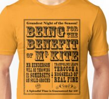 Being for the Benefit of Mr Kite - Colourway 1 Unisex T-Shirt