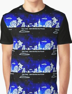 Building Your Future Title Screen (EPCOT) Graphic T-Shirt
