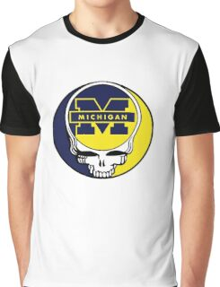 University of Michigan Grateful Dead Graphic T-Shirt