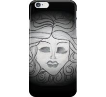 Madame Leota (Haunted Mansion Drawing) iPhone Case/Skin