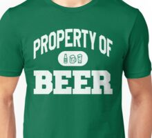 Property Of BEER Unisex T-Shirt