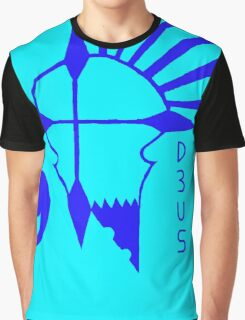 Deus Rebels Lagoon Graphic T-Shirt