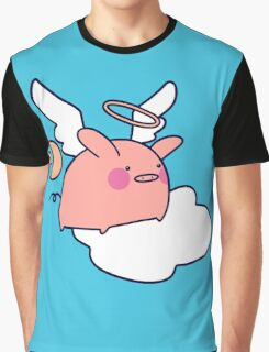 Angel Pig Graphic T-Shirt