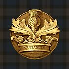 Outlander plaid and Thistle.  by Sassenach616