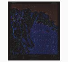 USGS TOPO Map Hawaii HI Haiku 349235 1957 24000 Inverted Kids Tee
