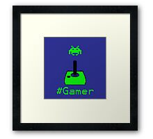 Contaminated Gamer Collection -- #Gamer Framed Print