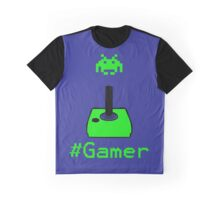 Contaminated Gamer Collection -- #Gamer Graphic T-Shirt