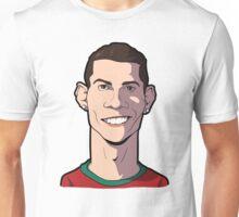 Cristiano ronaldo Caricature Unisex T-Shirt