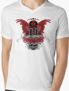 Jonah Warriors Mens V-Neck T-Shirt