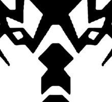 Wolf Brother (Black) Sticker