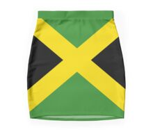 BIG UP Jamaica Flag Skirt Hot Reggae T-Shirt Duvet Mini Skirt