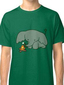 Campfire Elephant Classic T-Shirt