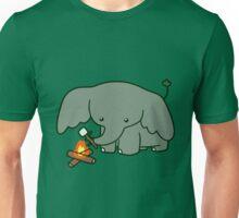 Campfire Elephant Unisex T-Shirt