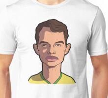 thiago silva caricature Unisex T-Shirt
