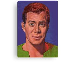 William Shatner is Captain James T. Kirk Canvas Print