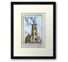 St Lukes Church - The Bombed Out Church - Liverpool - Hand Tinted Framed Print