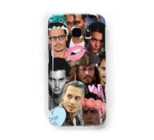 Johnny Depp Collage Samsung Galaxy Case/Skin