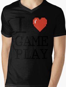 I LOVE GAMEPLAY Mens V-Neck T-Shirt