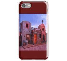 Old Western Street Scene iPhone Case/Skin