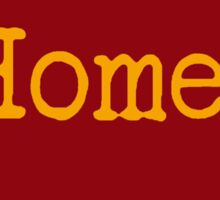 Iowa Home IA Iowa State Cyclone Colors Sticker