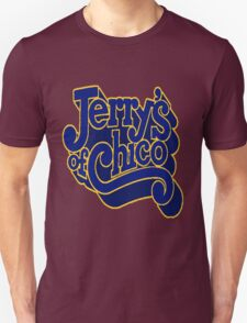 Jerry's of Chico 1970s Style Logo T-Shirt