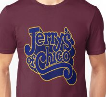 Jerry's of Chico 1970s Style Logo Unisex T-Shirt