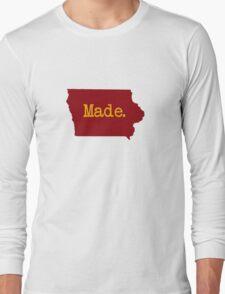 Iowa Made IA Iowa State Cyclone Colors Long Sleeve T-Shirt