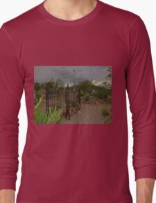 Tombstone Cemetery Long Sleeve T-Shirt