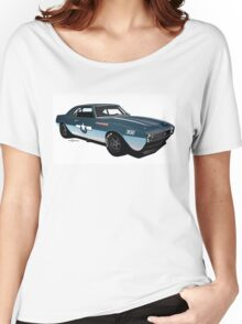 1968 Camaro Navy Racer Women's Relaxed Fit T-Shirt