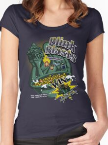 Blink Blasts Women's Fitted Scoop T-Shirt