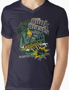 Blink Blasts Mens V-Neck T-Shirt