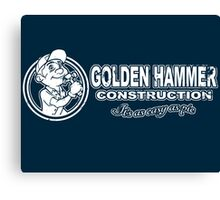 Golden Hammer Canvas Print