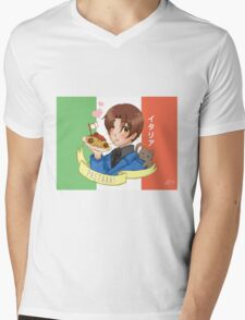APH Italy Mens V-Neck T-Shirt