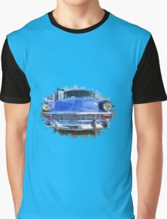 Blue Knight Graphic T-Shirt