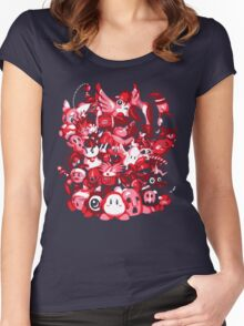 Dream Land Delinquents Women's Fitted Scoop T-Shirt