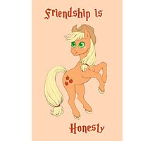 Friendship is Honesty Photographic Print