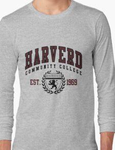 Gag Gift - Harverd Community College Long Sleeve T-Shirt