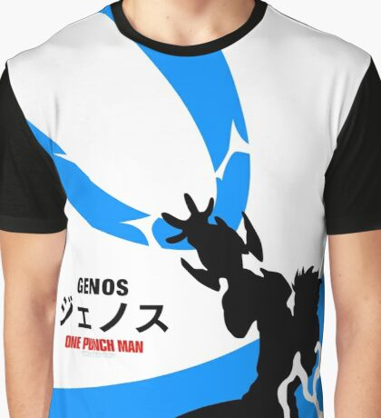 OPM - Genos (White) Graphic T-Shirt
