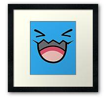 POKEMON - WOBBUFFET Framed Print