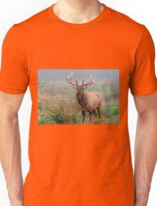 Male Roosevelt Elk in Rut Unisex T-Shirt