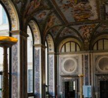 The Opulent Loggia in Villa Farnesina, Rome, Italy - Take One Sticker